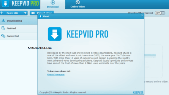 KeepVid Pro Key Registration Free Download