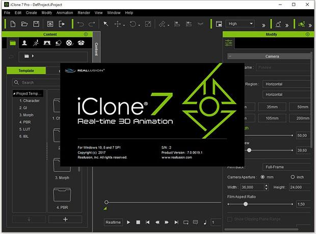 Reallusion iClone Pro Crack + Patch Download