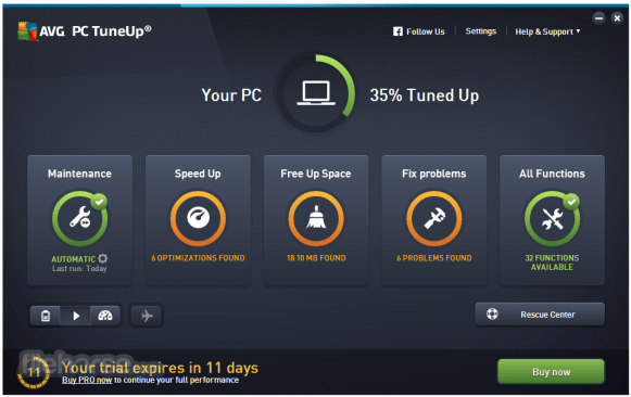 AVG PC TuneUp 2017 Serial Key + Crack Patch Download