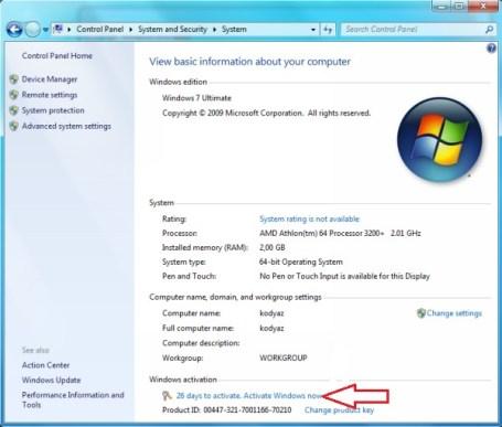 Windows 7 Product Key Generator Full Download 32-64 Bit