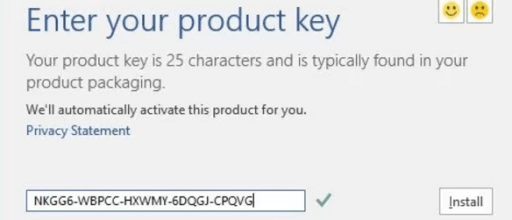 product key for microsoft office 2017