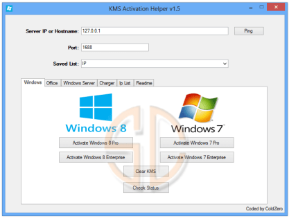 KMS Activator Ultimate 2017 For Windows 7, 8, 8.1, 10