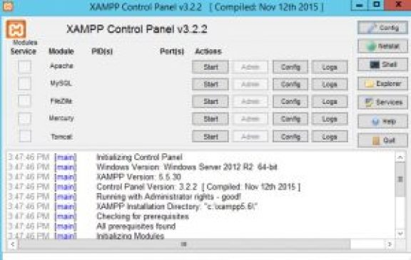 XAMPP Download For Windows 7, 8, 8.1,10