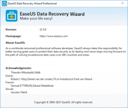 license code of easeus data recovery