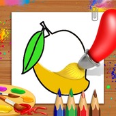 Fruits Coloring Book Drawing Book