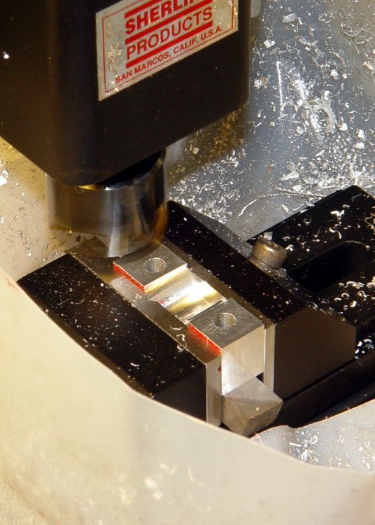Flycutting Clamp Slit