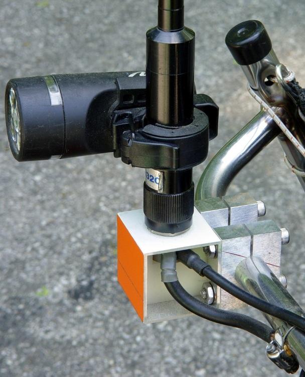 Homebrew antenna mount