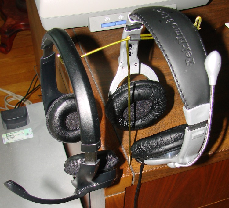 Headsets Off the Desk
