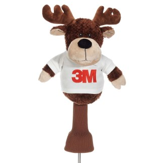 Moose golf headcover