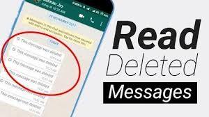 WhatsApp deleted