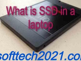 SSD in a laptop