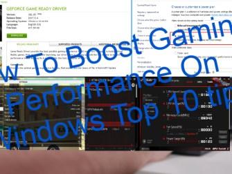 Gaming Performance