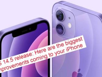 iOS 14.5 release