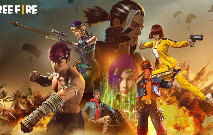 Free Fire 4th anniversary event