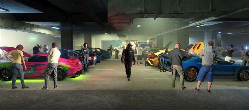 GTA Online's Summer 2021 update
