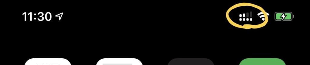 iPhoneをデュアルSIMにした画像
