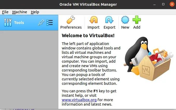 virtual box installation in ubuntu
