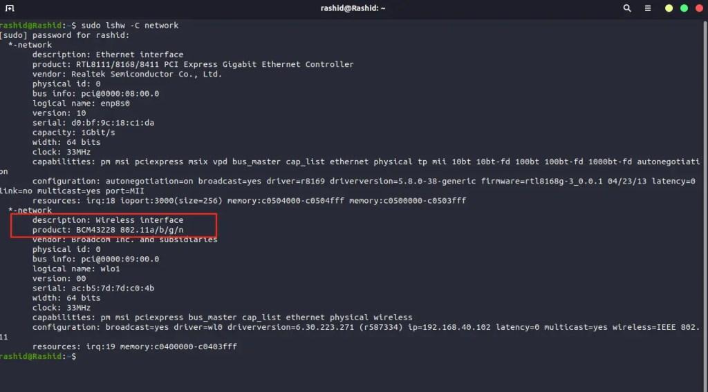 Ubuntu 20.04 wifi issue fix