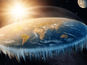 Picture of Flat Earth