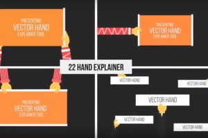 Free Download Videohive Hand Explainer Kit 21626039