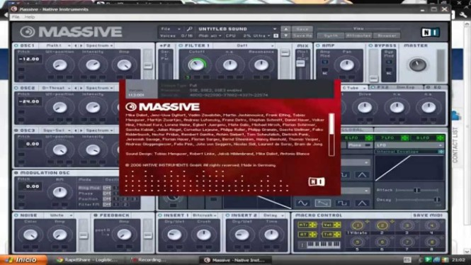 Native Instruments Massive Mac