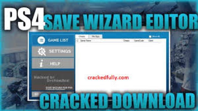 PS4 Save Wizard 2020 Crack by software2crack
