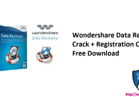 Wondershare Data Recovery Crack + Registration Code Free Download