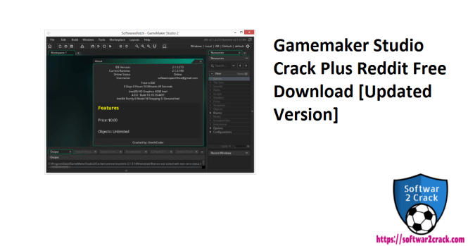 Gamemaker Studio Crack Plus Reddit Free Download [Updated Version]