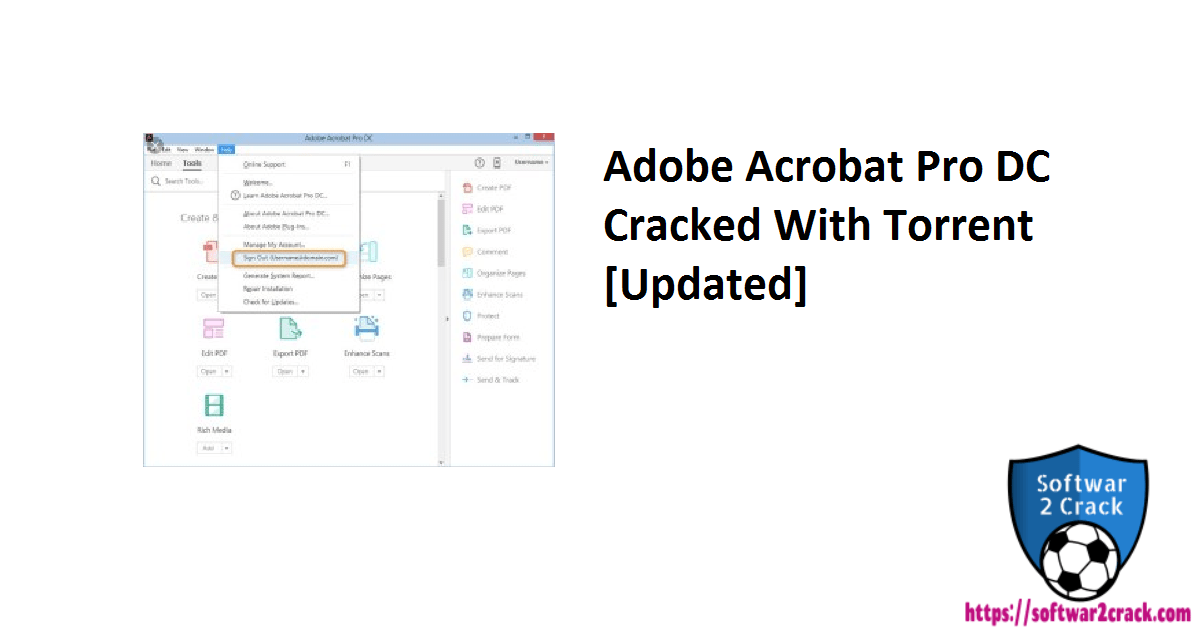 Adobe Acrobat Pro DC Cracked With Torrent [Updated]