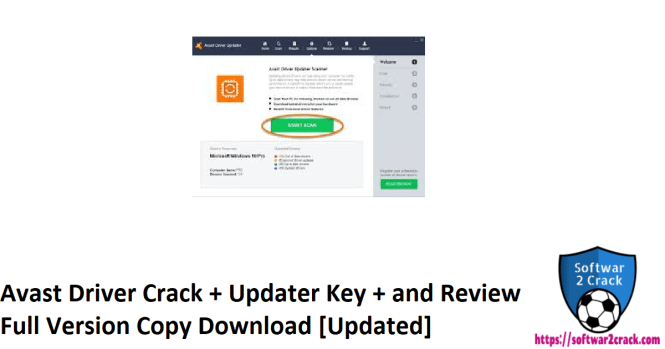 Avast Driver Crack + Updater Key + and Review Full Version Copy Download [Updated]