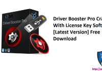 Driver Booster Pro Crack With License Key Software [Latest Version] Free Download