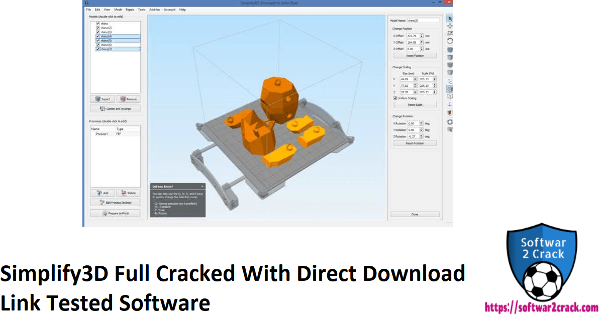 Simplify3D Full Cracked With Direct Download Link Tested Software