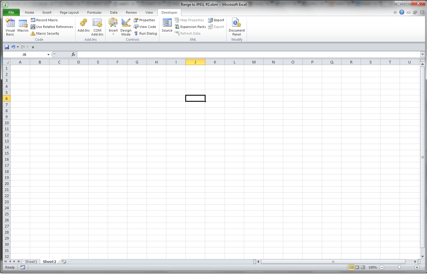 Vba Excel Automation From Other Applications