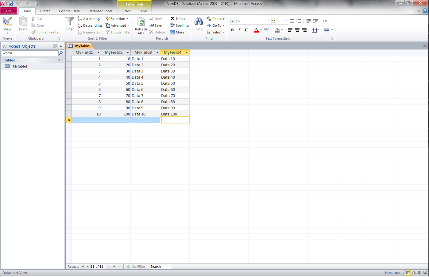 Excel Vba Export Worksheet To Blank Access Table