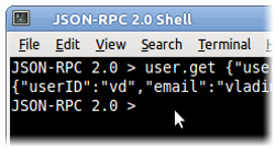 JSON-RPC 2.0 Shell