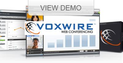 Voxwire Web Conferencing