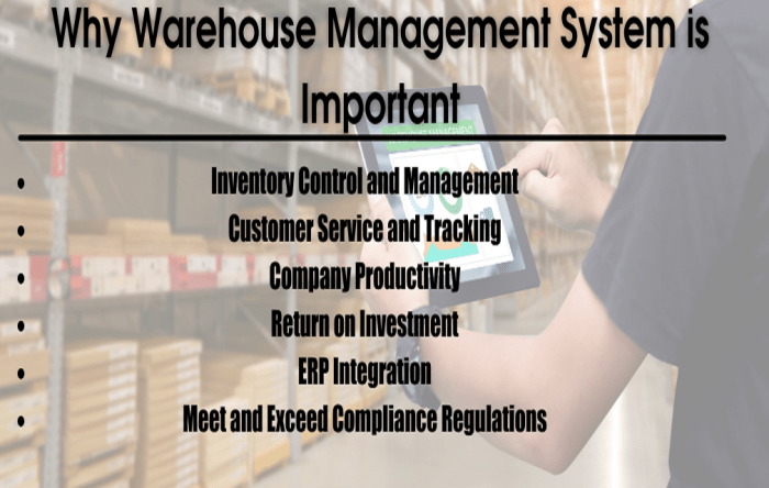 Why warehouse management system is important?