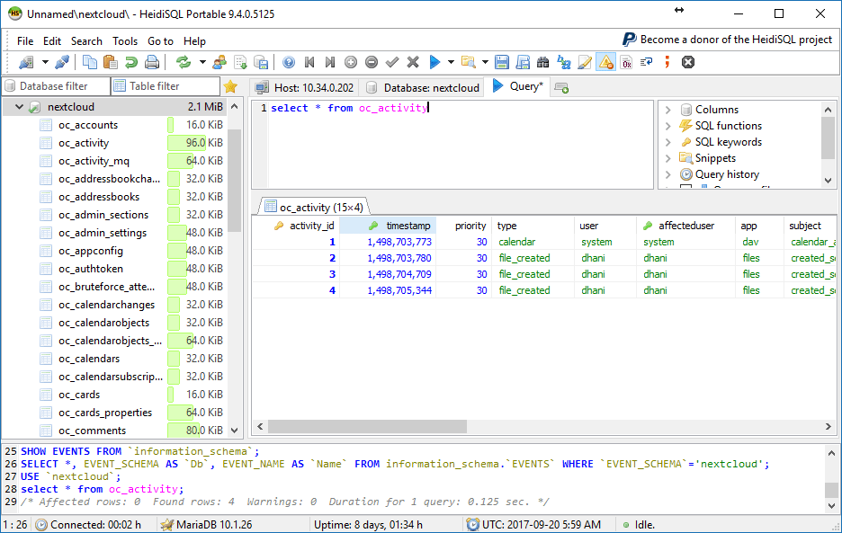 Download HeidiSQL 9 4 - Free MySQL GUI Tool for Windows