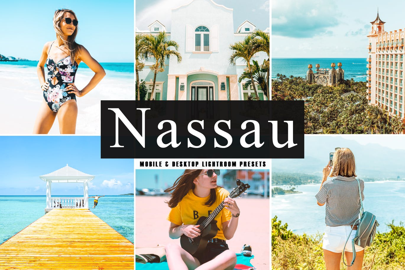 Nassau Mobile & Desktop Lightroom Presets