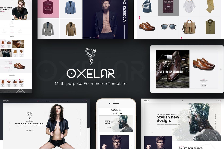 Oxelar - Multipurpose Responsive Magento Theme