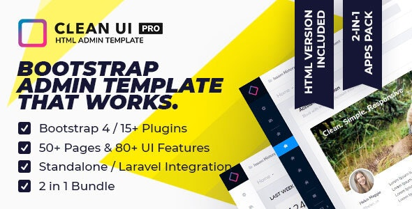 Clean UI HTML Pro v2.0.2
