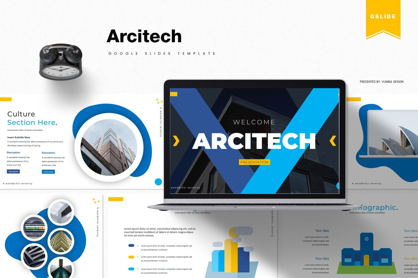 Arcitech - Google Slides Template