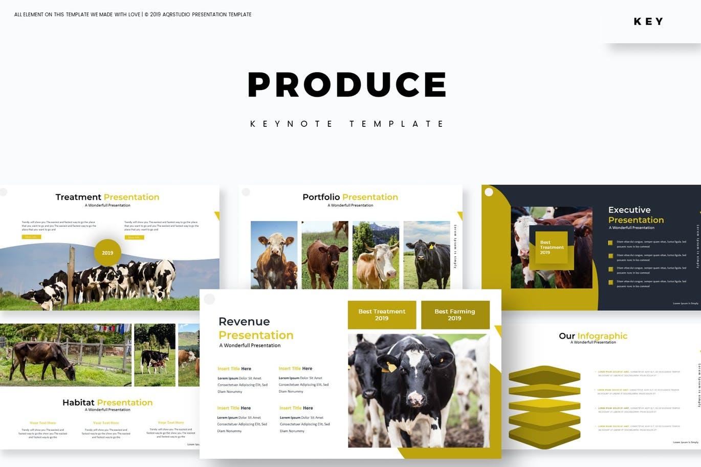 Produce - Keynote Template