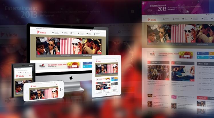 SJ Vinda - Free Joomla Entertainment Template