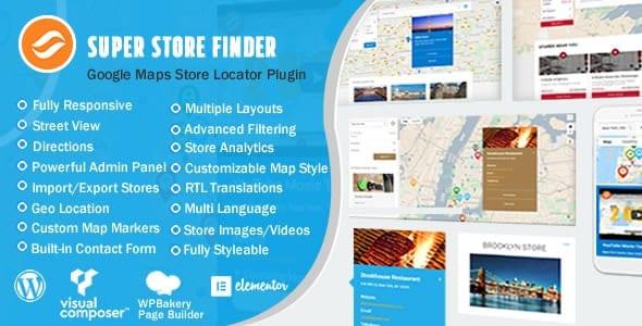 Super Store Finder for Wordpress v6.5 - Find stores on WordPress