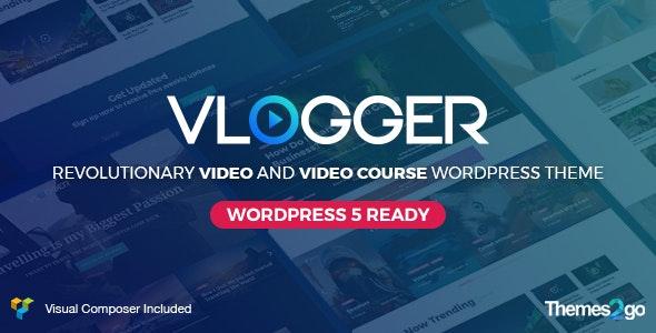 Vlogger v2.4.2 - WordPress Video Template
