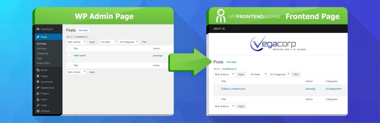 WP Frontend Admin (Premium) v1.14.0.1 NULLED