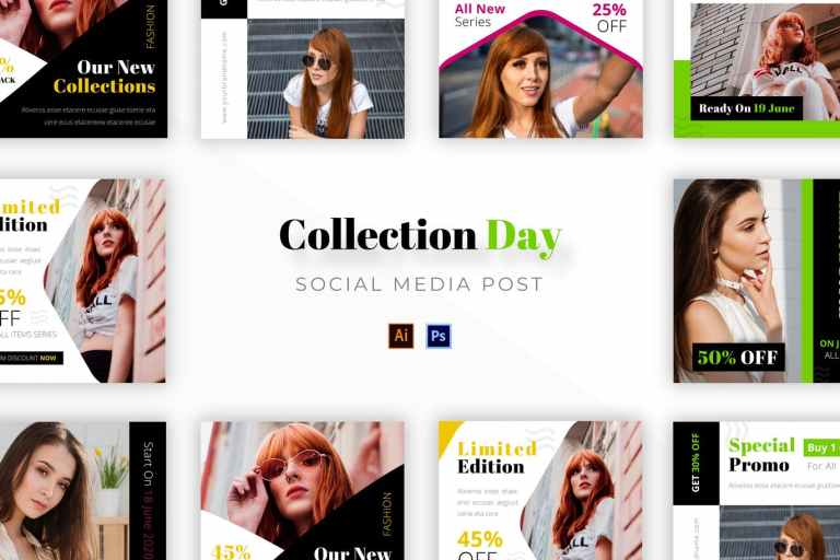 Collection Day Socmed Post