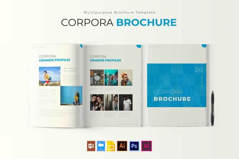Corpora - Brochure Template