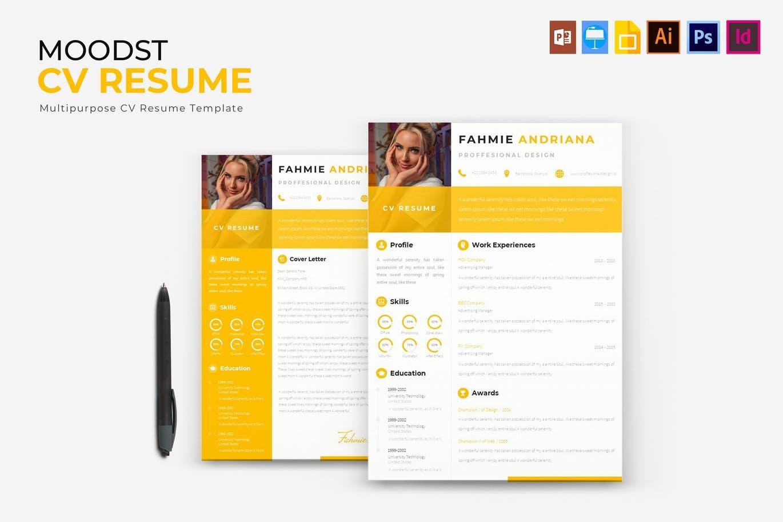 Moodst - CV & Resume